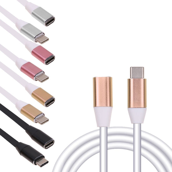 Type C Male to USB-C Female Extension Data Cable for Macbook Tablet Phone
