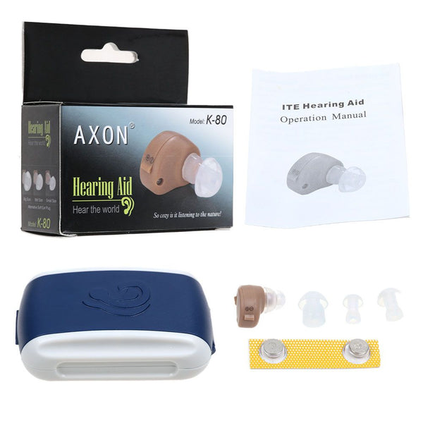 K-80 Sound Voice Amplifier Hearing Digital Aid Enhancer