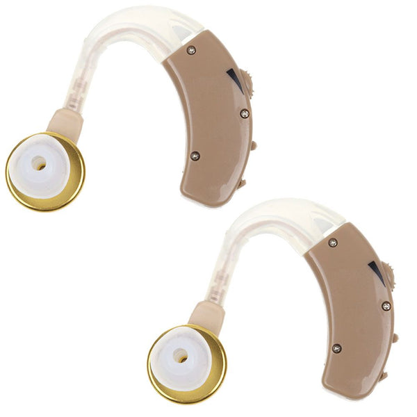 1 Pair F-136 Sound Voice Amplifier Hearing Digital Aid Enhancer