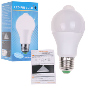 10W E27 LED PIR Motion Sensor Energy Saving Light Lamp Bulb Infrared