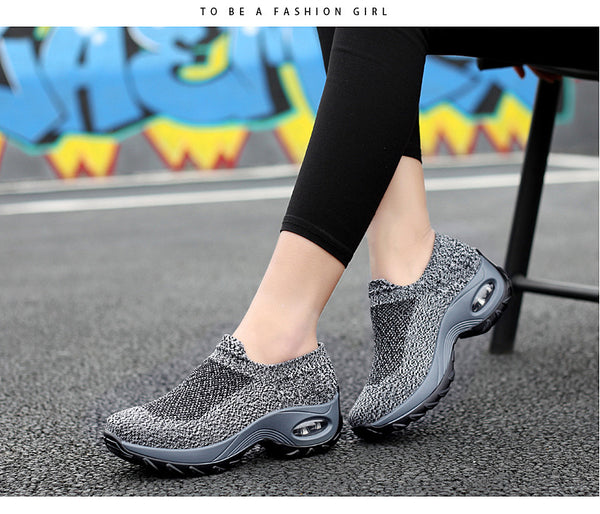 Women Breathable Sport Shoes