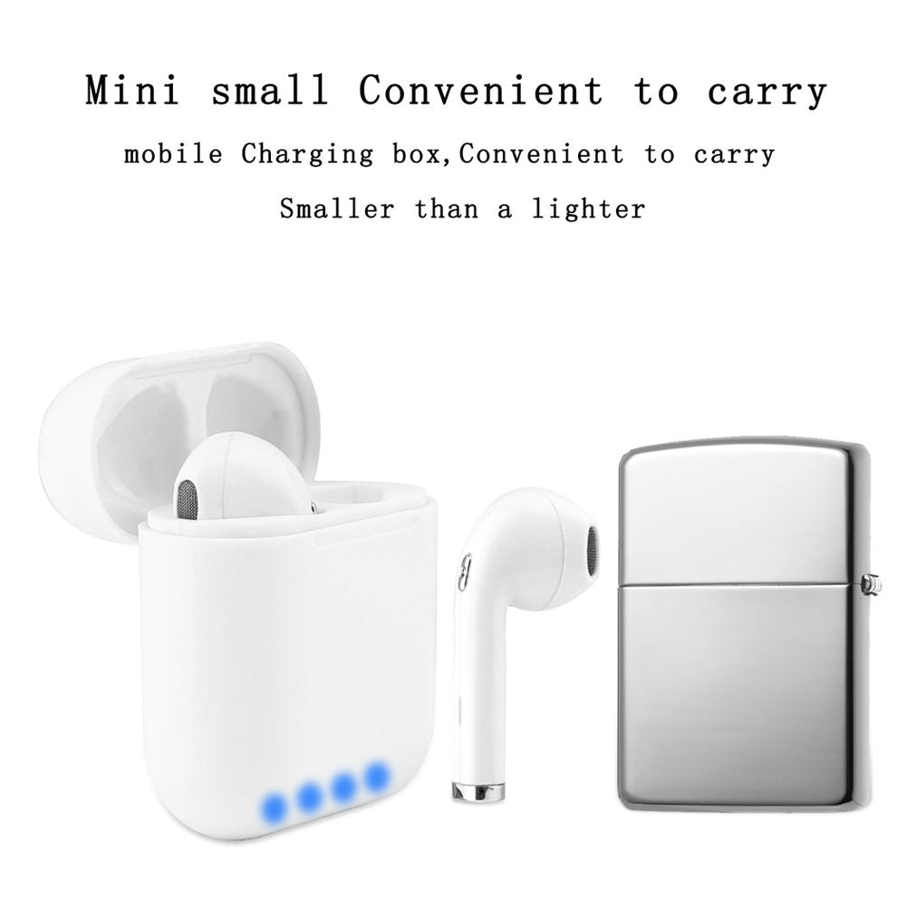 i8 Mini Wireless 180° Rotation Earphone Wireless Bluetooth