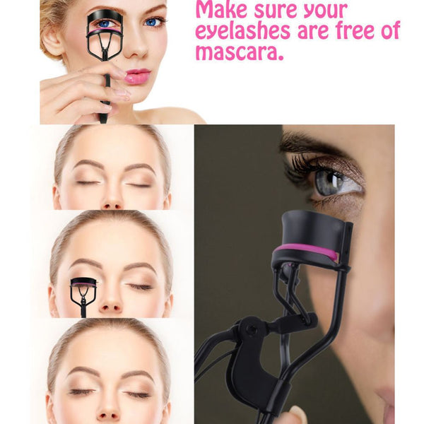 Professional Eyelash Curler Applicator Curling Styling Eye Lashes Makeup Tools