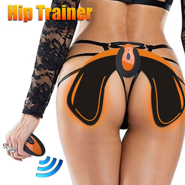 Upgrade EMS Hips Trainer Buttock Lift Muscle Stimulator Fat Burning Training