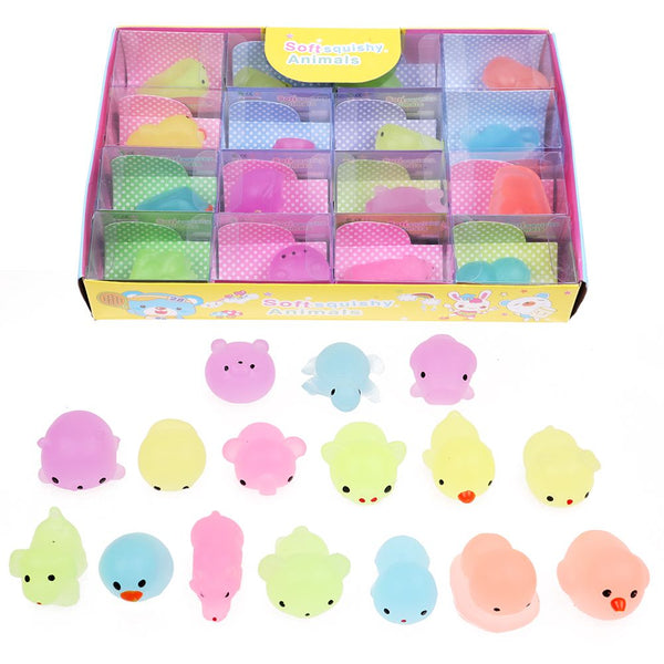 10 Pcs Random Squishy Lot Slow Rising fidget Kawaii Cute Animal Hand Kids Toy Gift