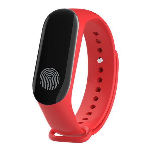 New Mi 3 Smart Watch Bluetooth 0.78 inch OLED Touch Screen Smart Bracelet