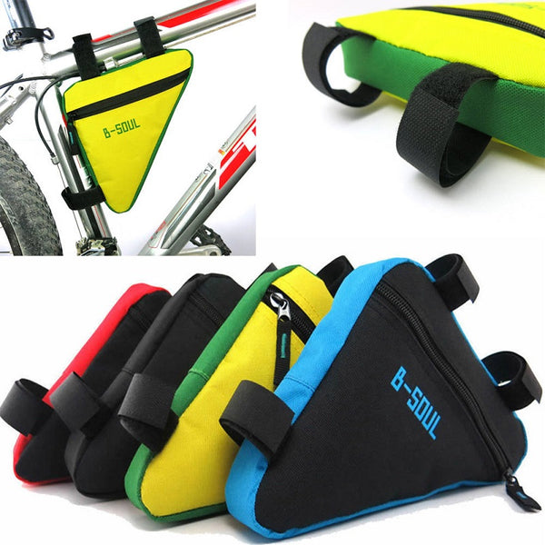 Outdoor Cycling Bicycle Front Triangle MTB Frame Bag Mountain Bike Kit Pouch