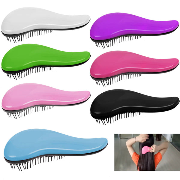Magic Professional Tangle Styling Knot Comb Detangler Hairbrush