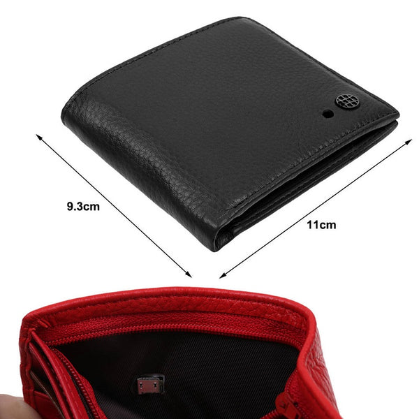 Bluetooth Leather Smart Wallet Anti Lost Anti Theft Tracker Finder