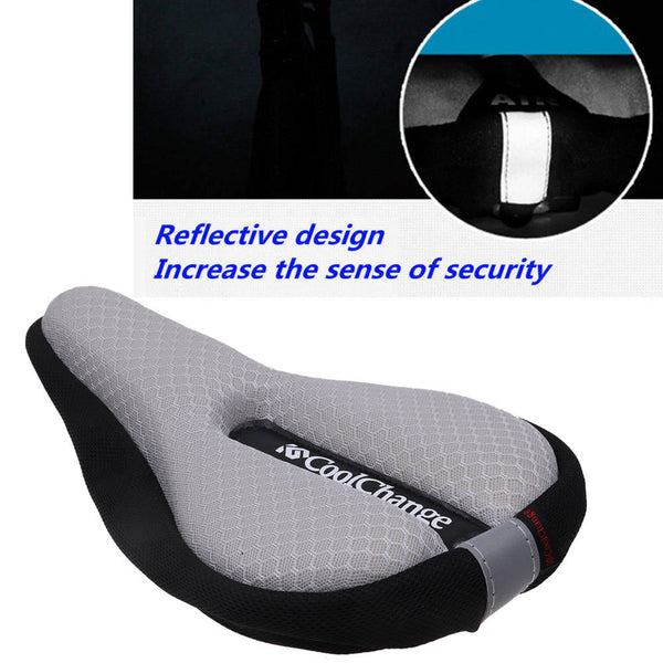Silicone Extra Soft Bicycle Bike MTB Saddle Cushion Seat Cover Pad Comfort