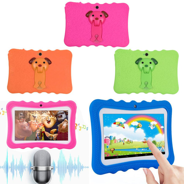 "7"" 8GB Quad Core Kids Children Education Entertainment Tablet PC Android 4.4"