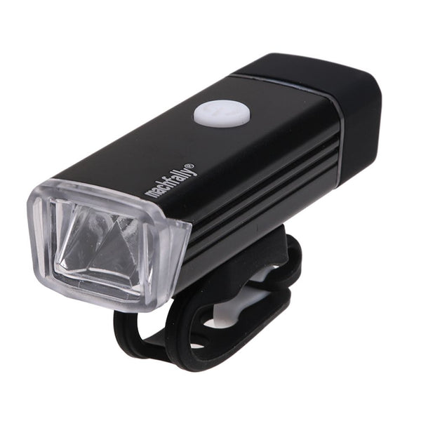 LED Rechargeable USB Bicycle Head Light 4 Modes Waterproof Bike Cycling Lamp