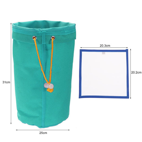 5 Gallon Filter Hash Bag Ice Bubble Plant Extractor +Pressing Mesh Screen