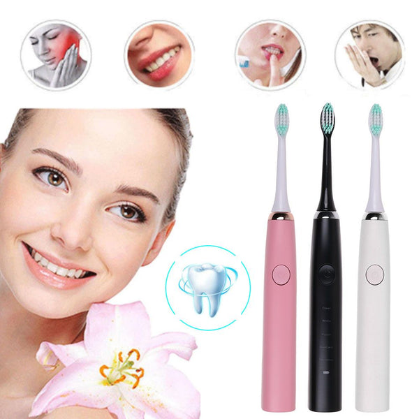 Sonic Electric Toothbrush 5 Modes Oral Adult Rechargeable Ultrasonic Vibration Toothbrush
