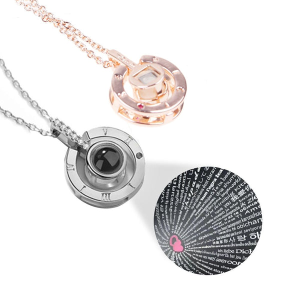 Subloom - 100 I Love You Necklace