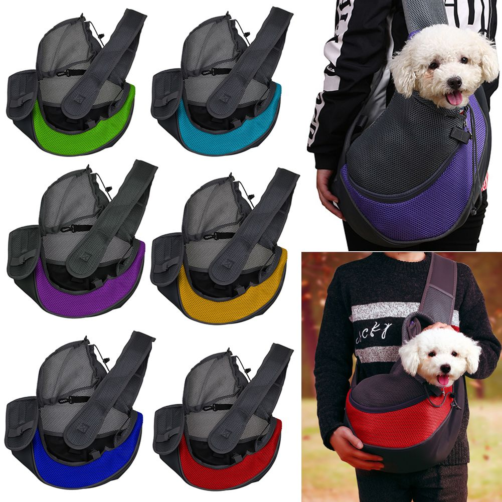 Portable Pet Dog Cat Rabbit Puppy Carrier Travel Shoulder Sling Cage Bag