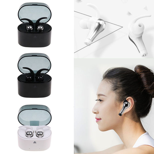 QY1 TWS 5.0 Dual Bluetooth Earphone Stereo English Prompt Headphone