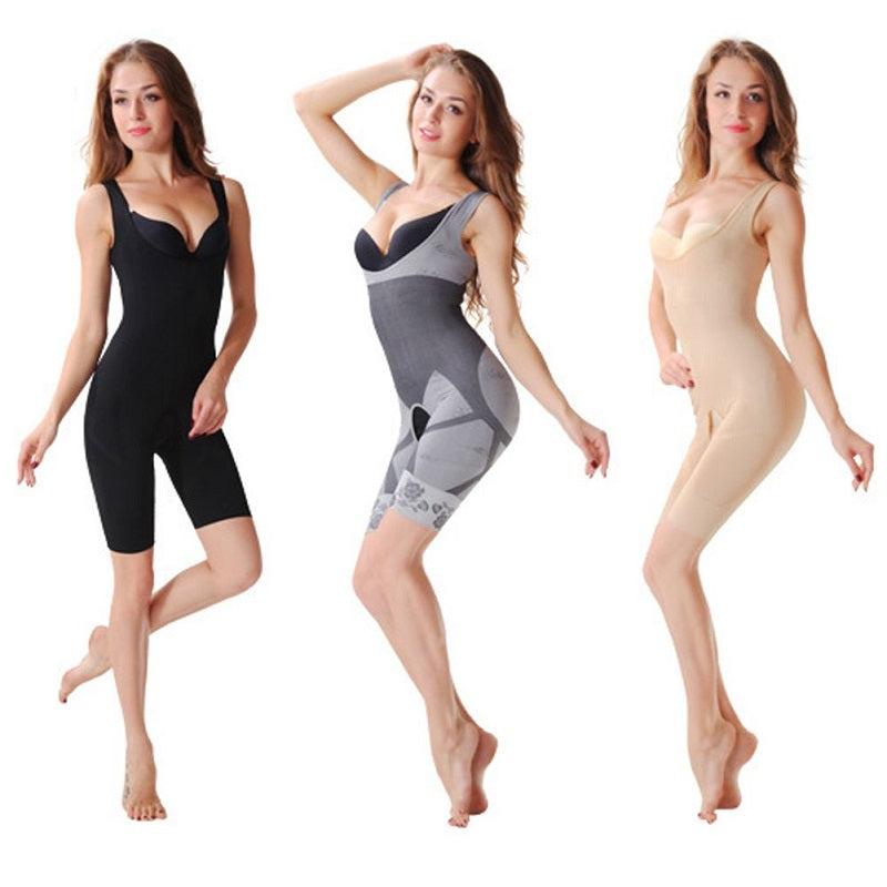 Body Shaper Bodysuit Shapewear Thigh Trimmer Lift Firm Slim Control Shaper