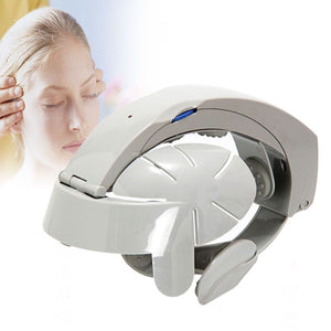 Electric Head Vibration Massager Brain Massage Relax Easy Acupuncture Points