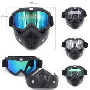 628f531879 Winter Snow Sport Goggles Ski Snowboard Snowmobile Face Mask Glasses Eyewear