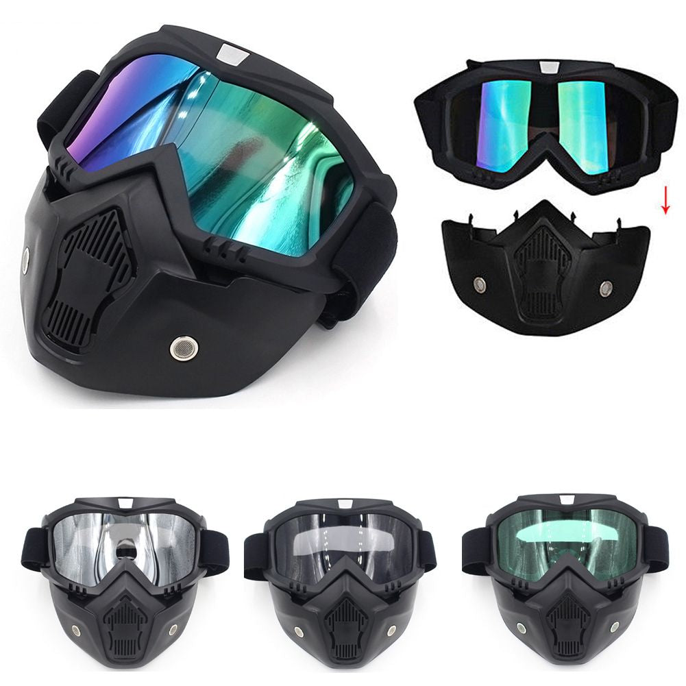 699f35b70a ... Winter Snow Sport Goggles Ski Snowboard Snowmobile Face Mask Glasses  Eyewear ...