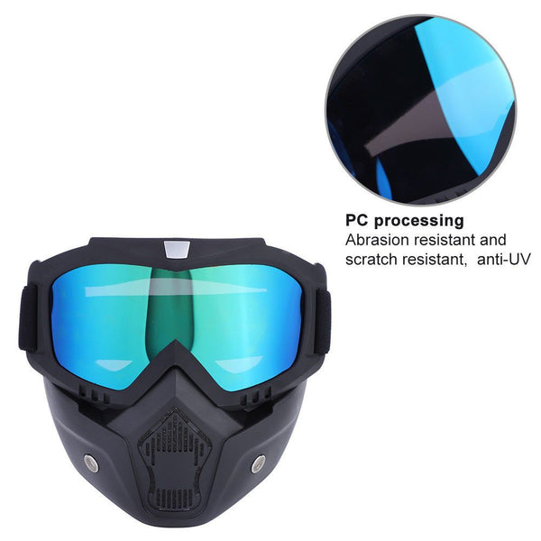 Winter Snow Sport Goggles Ski Snowboard Snowmobile Face Mask Glasses Eyewear