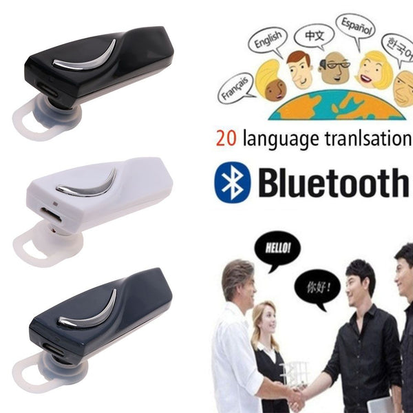 28 Languages Intelligent Translator Bluetooth Earphone Wireless Headset