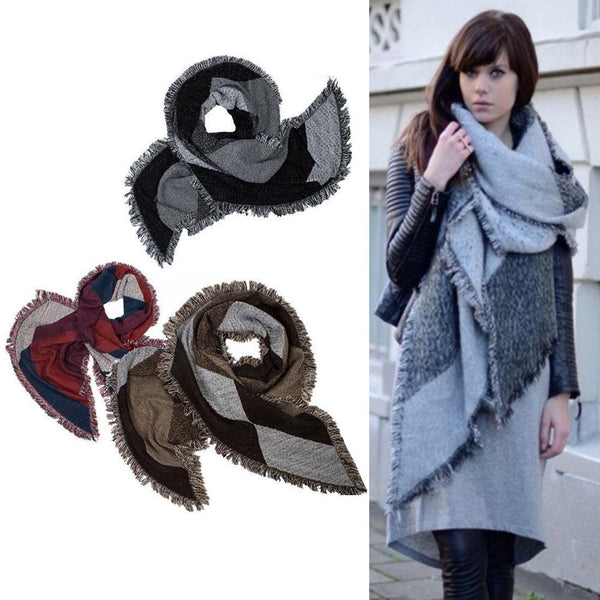 Fashion Winter Womens Thick Warm Big Scarf Stole Scarves Ladies Shawl Wraps