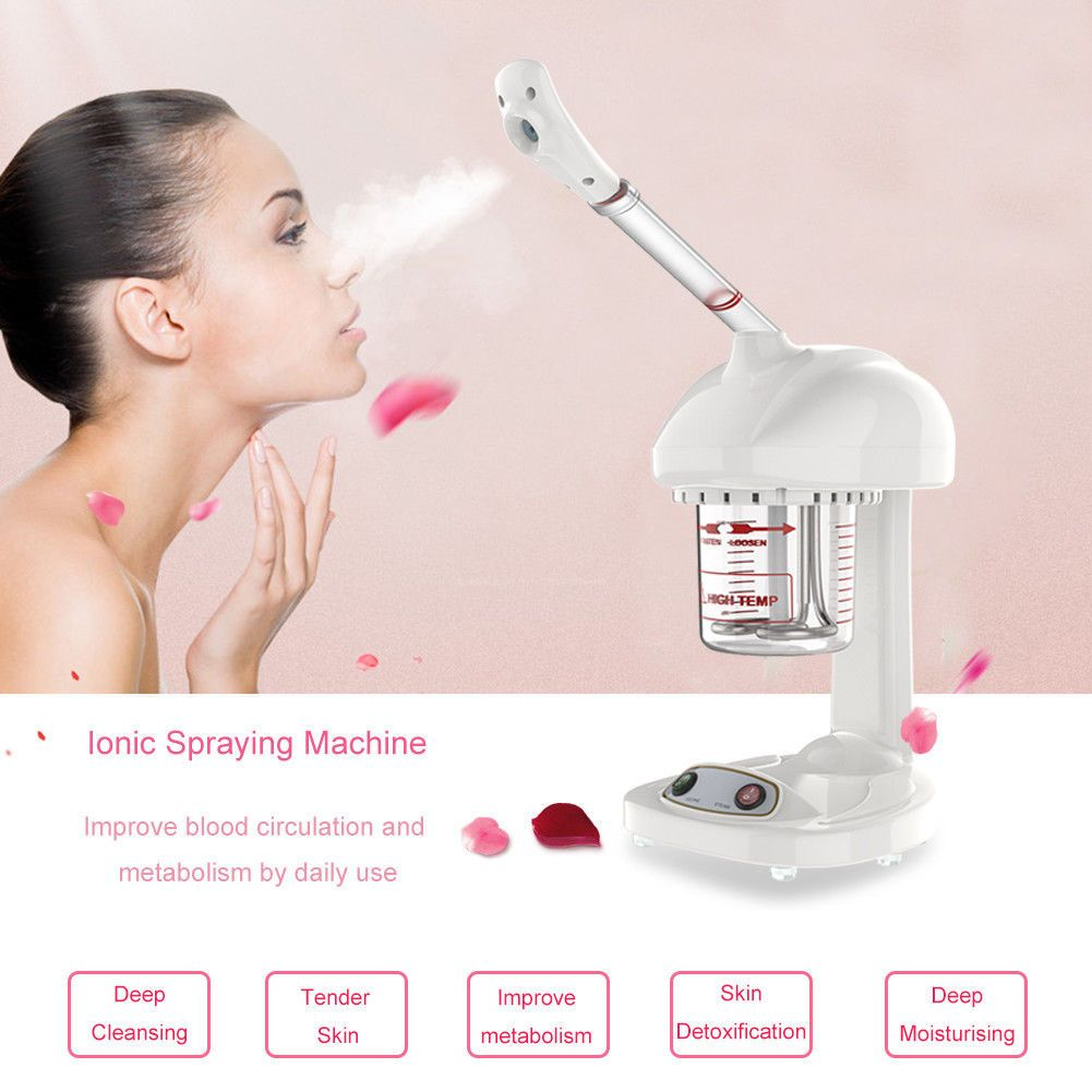 Portable Professional Desktop Facial Steamer OZone Spa Salon Beauty Table
