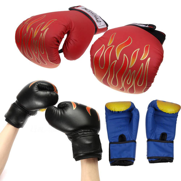 Adult/Kids Boxing Sparring Training Gloves MMA Kick Boxing Punching Gloves