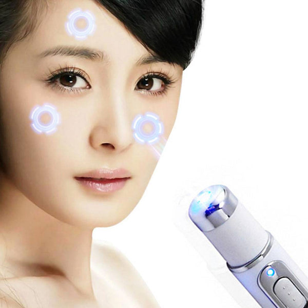 Medical Blue Light Therapy Laser Treatment Pen Acne Scar Wrinkle Removal
