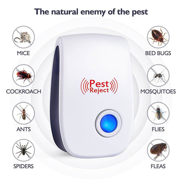 Ultrasonic Pest Repeller Control Electronic Repellent Mice Rat Reject