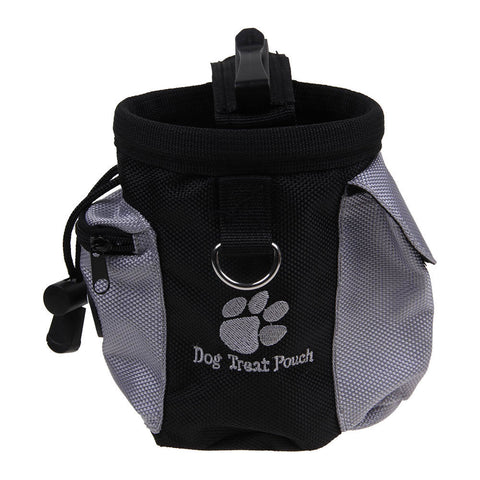 Outdoor Dog Cat Training Treat Snack Bag Pouch Storage Holder Dispenser Hook