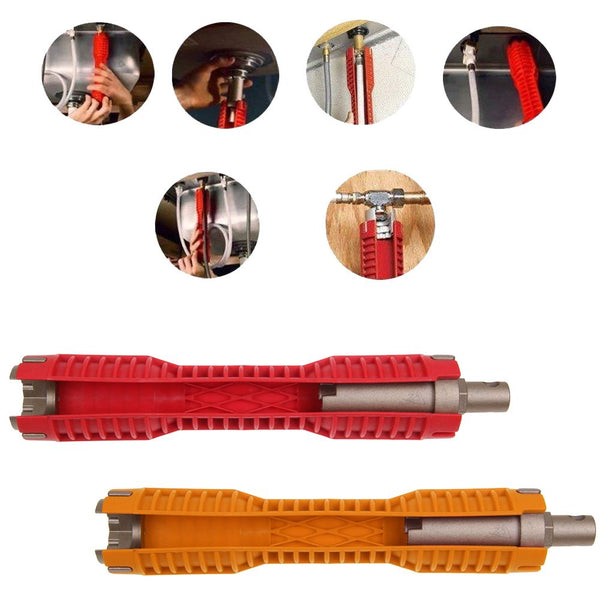 Faucet Sink Installer Multifunctional Water Pipe Socket Wrench Spanner Tool