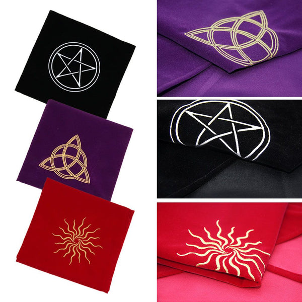 Tarot Cards Table Cloth Tablecloth Divination Velvet Board Game Play Mat
