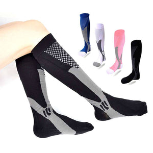 Women Compression Long Socks Leg Foot Support Pain Relief Sports Orthotics