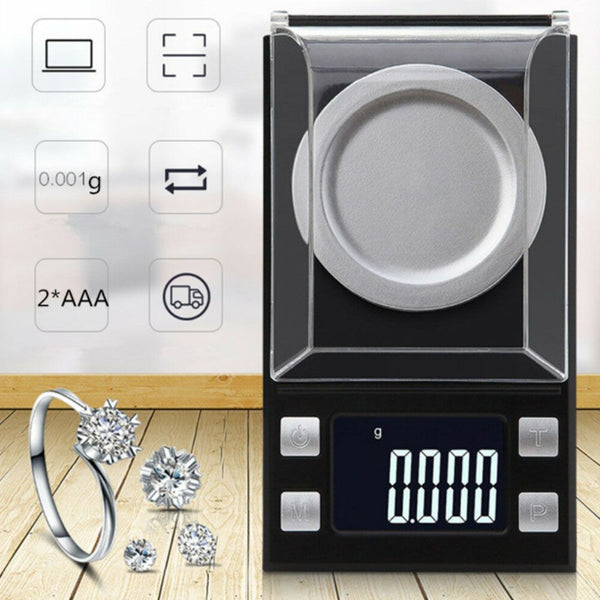 High Precision Electronic Balance Scale Carat Jewelry Gold Powder Scale