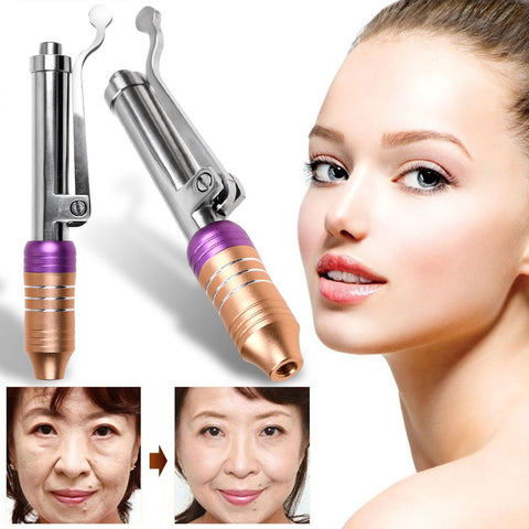 Hyaluron Pen Gun Non Invasive Wrinkle Removal Water Syringe Injection Atomiz
