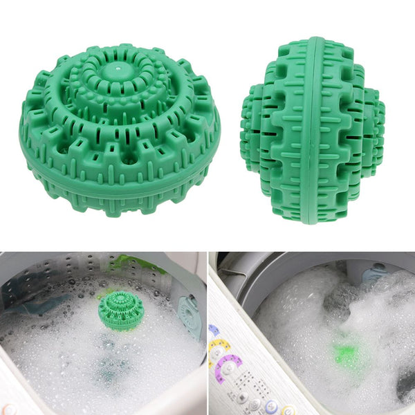 Magic Laundry Ball Orb No Detergent Wash Wizard Style Washing Machine ION