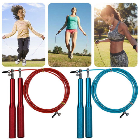 Jump Rope Ultra-speed Bearing Skipping Steel Wire jumping Fitness Training