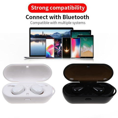 T2C TWS Wireless Mini Bluetooth Earphone For Xiaomi Huawei Mobile Stereo