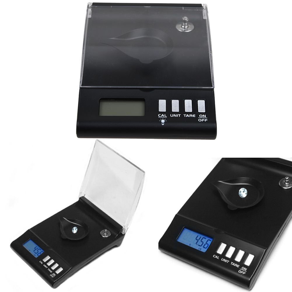 30g *0.001g LCD Digital Pocket Scale Jewelry Gold Gram Balance Weight Scale