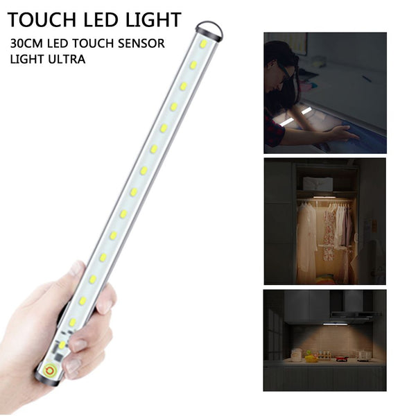 30cm Dimmable 4 Modes USB Charge LED Touch Light Bar Outdoor Emergency Lamp