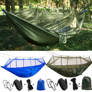 Double Person Camping Travel Outdoor Tent Hanging Hammock Bed