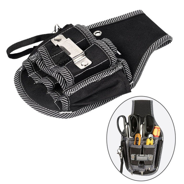 9in1 Waist Pocket Tools Bag Belt Pouch Bag Screwdriver Kit Holder Tool Bag