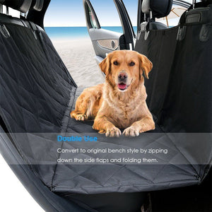 Waterproof Car Rear Back Seat Cover Pet Dog Auto Protector Hammock Mat Liner