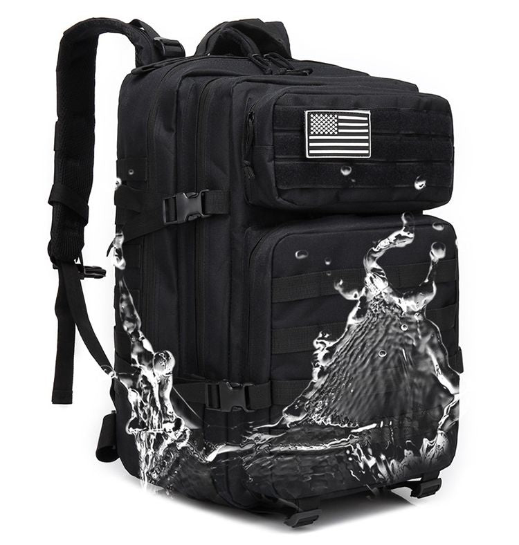 40L Outdoor Neutral Military Tactical Backpack Rucksacks Hiking Travel Bag