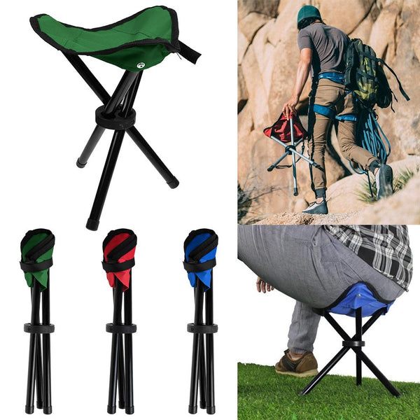 Folding Seat Tripod Portable Travel Fishing Outdoor Camping Stool Chair