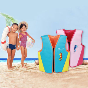 Kids Swim Float Vest Swimming Pool Aid  Life Jacket