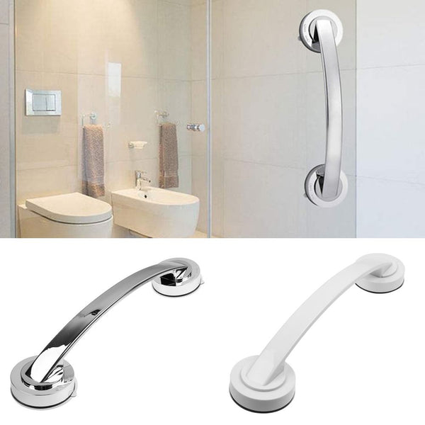 Bathroom safety rail Suction Handle Grab Bar for Shower Tub Glass Door